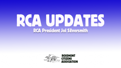Next RCA Meeting – December 11